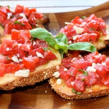 bruschettatomaoes