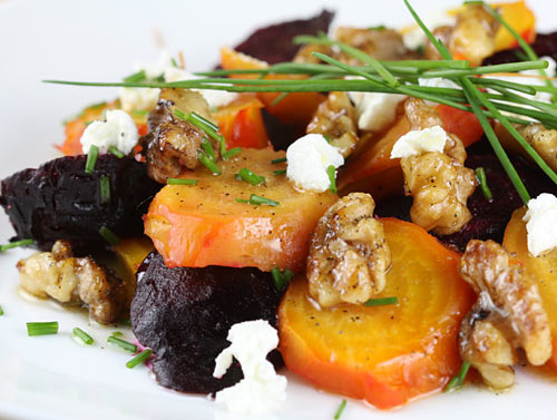 Roasted Beet Salad With Walnuts & Goat Cheese | Recipe Rebuild