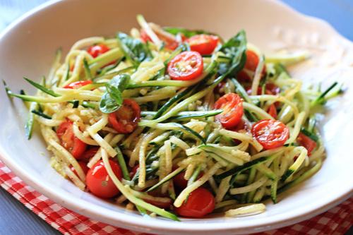 "Zucchini ""Pasta"" Salad"