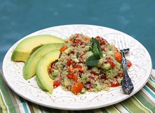 Simple Quinoa Salad | Recipe Rebuild