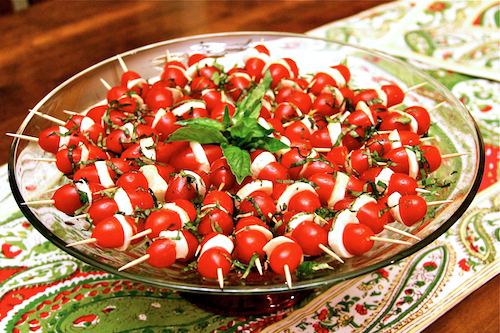 Caprese Skewers with a Twist Recipe