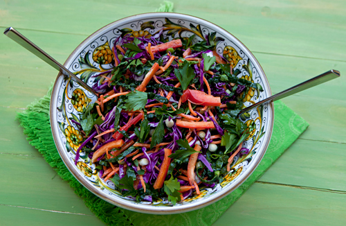 Kale  Cabbage Slaw Recipe Rebuild
