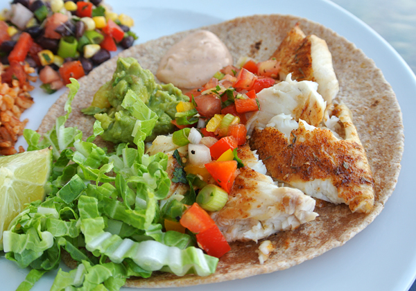 Blackened fish tacos with chipotle cream recipe rebuild for Fish taco seasoning