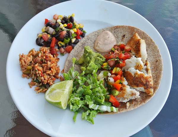 Blackened Fish Tacos With Chipotle Cream | Recipe Rebuild