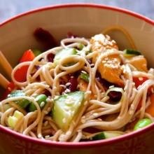 Vibrant Soba Noodle Salad 1