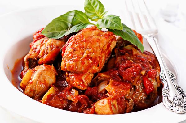 Slow Cooker Chicken Cacciatore | Recipe Rebuild