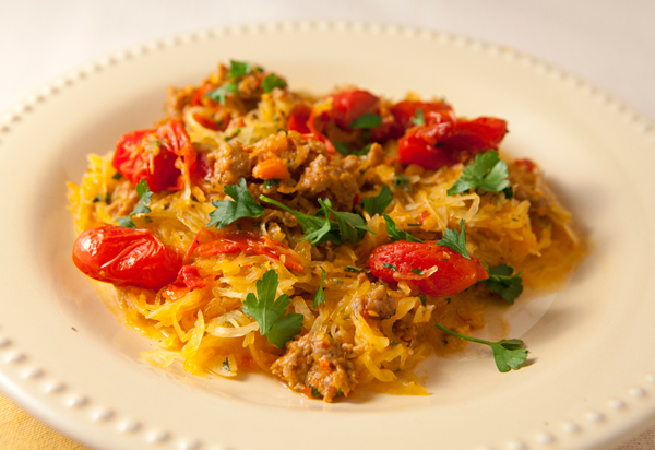 ... Squash With Turkey Sausage & Roasted Tomatoes | Recipe Rebuild