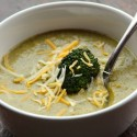 Cheesy Broccoli Soup 2