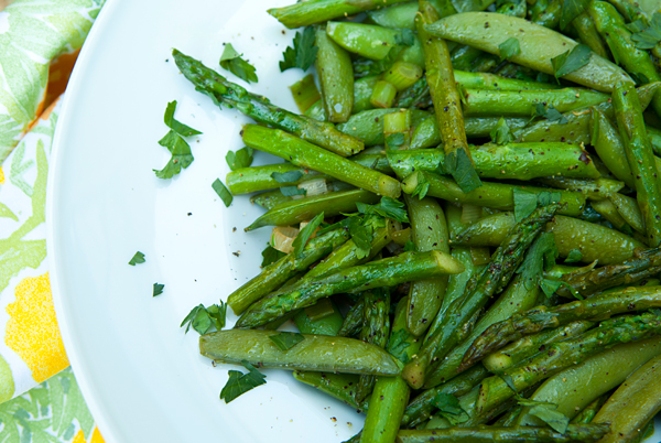 Sauteed Radishes And Sugar Snaps With Dill Recipe — Dishmaps