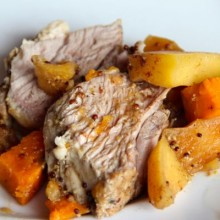Pork with Sweets and Apples 7