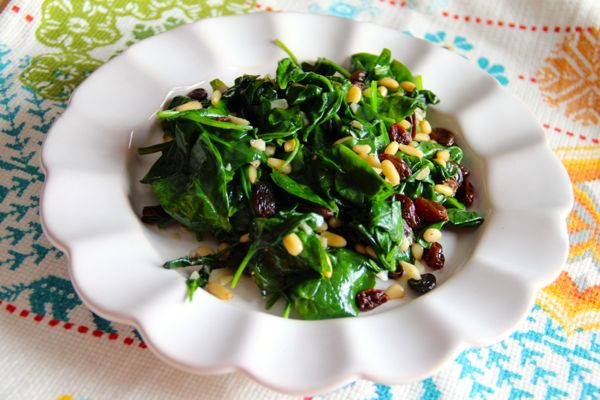 Catalan Style Spinach | Recipe Rebuild