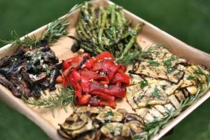 Grilled Vegetable Platter 3