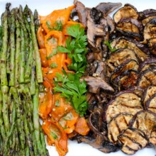 Grilled vegetable Platter 1