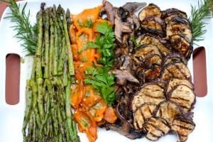 Grilled vegetable Platter 1