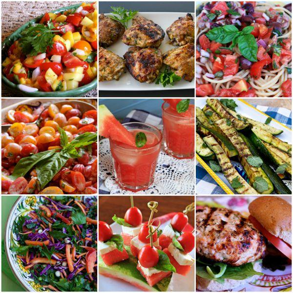 Summer Weekend Healthy Menu Ideas