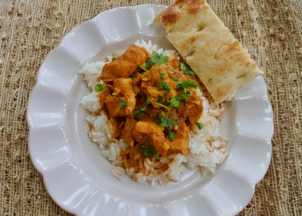 Slow cooker butter chicken recipe rebuild a traditional recipe was lightened using light coconut milk no butter and adding yogurt in place of cream forumfinder Choice Image